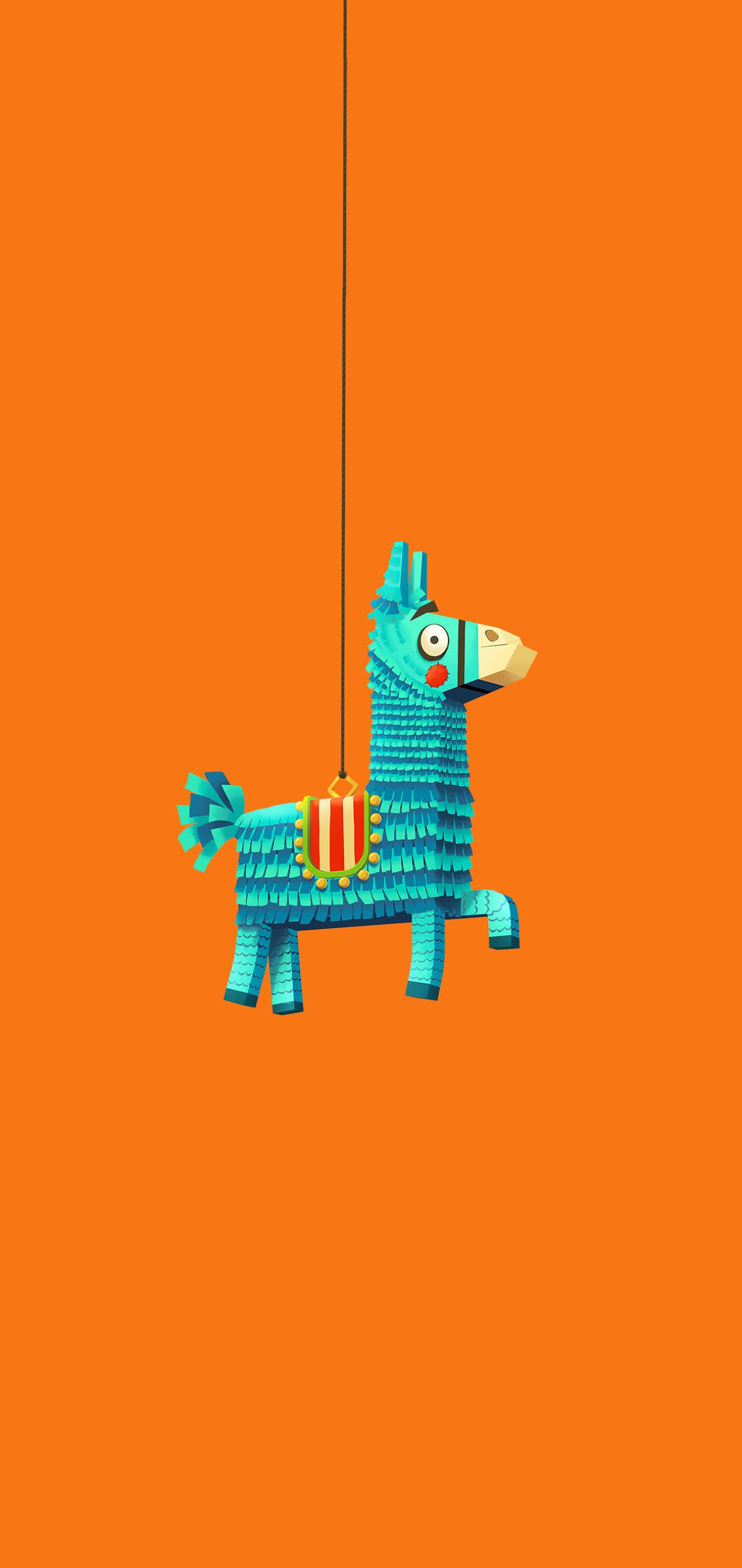 FORTNITE WALLPAPER PHONE - Llama Pinatas