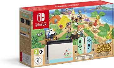 comprar pack consola nintendo switch animal crossing