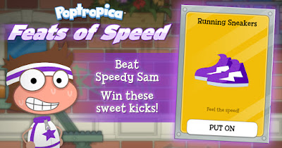 Play our new Feats of Speed game to earn your first pair of sneakers!