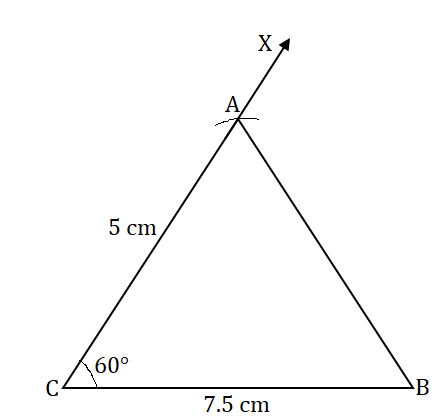 NCERT Solutions for Class 7 Maths Ch 10 Practical Geometry Exercise 10.3 Answer 3