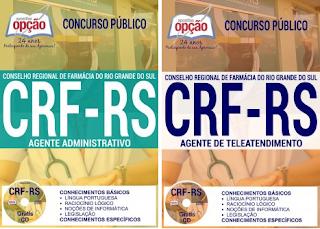 Apostila para Concurso CRF RS 2017