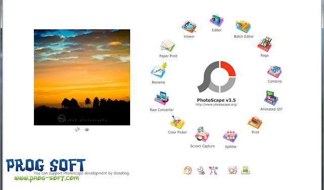 تحميل برنامج فوتوسكيب PhotoScape لتعديل الصور