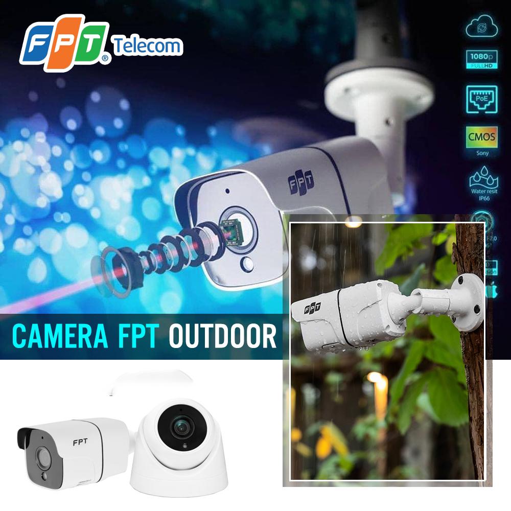 Camera FPT ngoài trời chống nước IP66