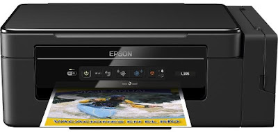 printer from Epson is an strange acquaintance inwards the impress gain Epson EcoTank L395 Driver Download