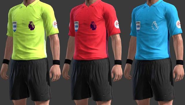 uk availability 7d0ed 33b4f Nike Premier League Referee Kit 2018-19 - PES 2013 - PATCH ...