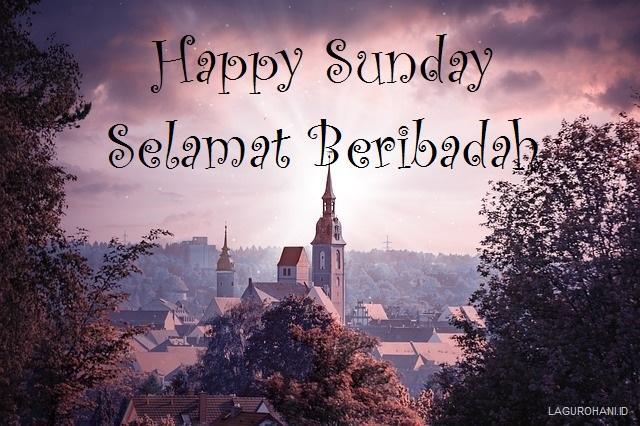 10 Gambar Ucapan Selamat Hari Minggu Rohani Kristen Terbaru Dan Unik Lagu Rohani
