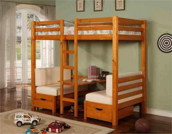 More Than 20 Beautiful Couch- Bunk Bed Designs