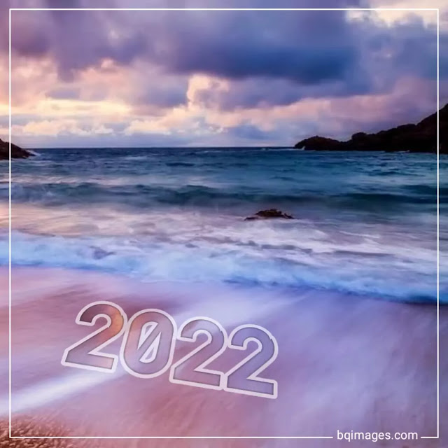 free happy new year beach images
