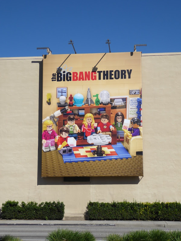 Big Bang Theory 2017 Lego billboard