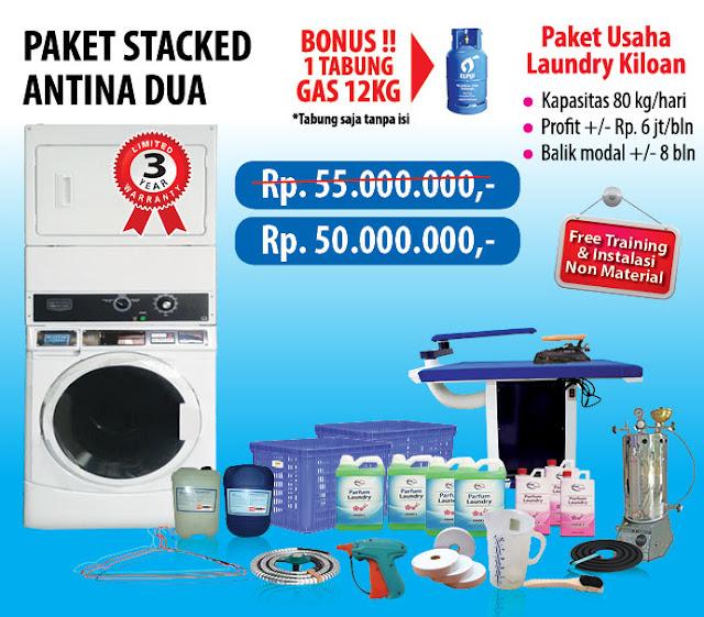 2-PAKET-ANTINA-2 Paket Usaha Laundry kredit Tanpa survey