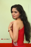 Actress Zahida Sam Latest Stills in Red Long Dress at Badragiri Movie Opening .COM 0036.JPG