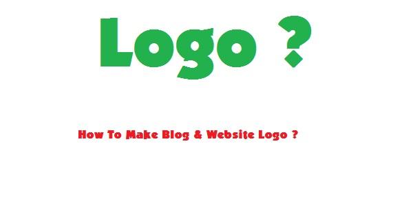 Blog & Website Ke Liye Logo Kaise Banaye ?