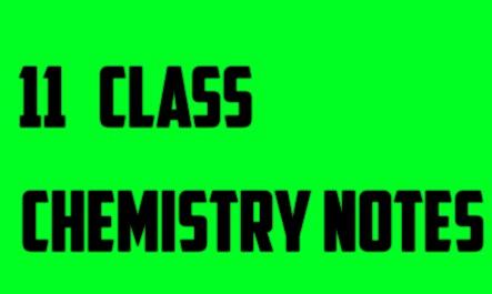 Part-1,1ST YEAR CHEMISTRY NOTES~FSC | Educatedsony