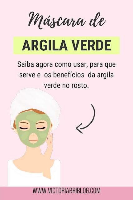 Argila Verde no rosto: pele oleosa e acneica