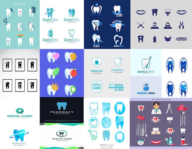 شعار لطبيب اسنان