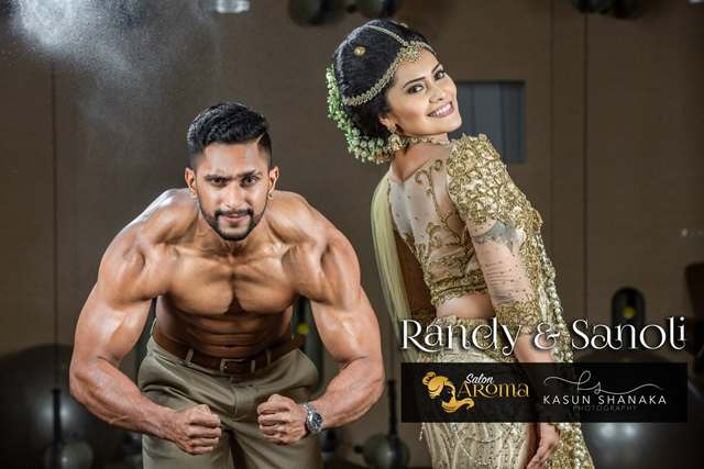 Randy and Sanoli Private gym Session 1