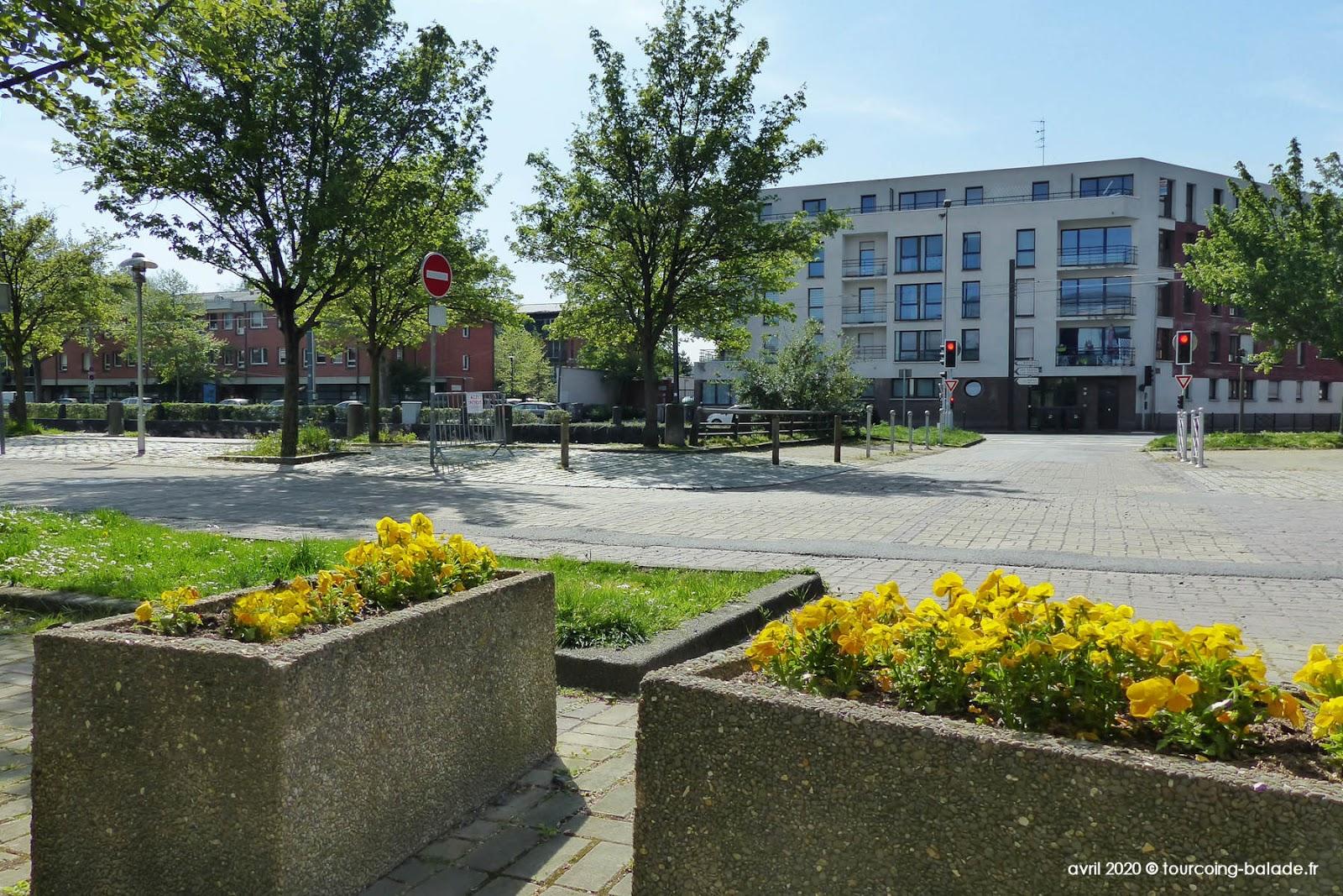 Végétalisation Tourcoing Quai du Havre, 2020