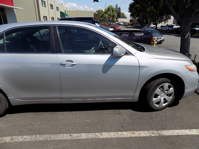 Camry doors after collision repair at Almost Everything Auto Body.