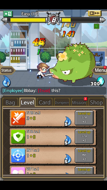 Dungeon Corperation auto-farming RPG Game Review 1080p Official Bigshot Games