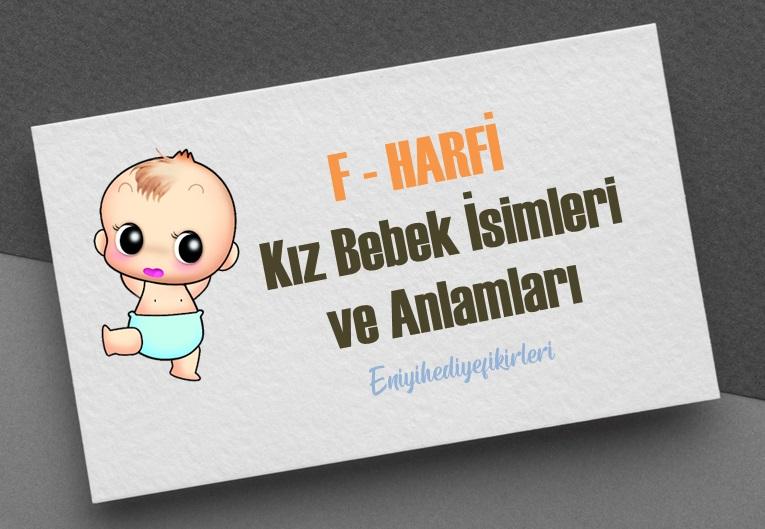 F Harfi Kız Bebek İsimleri