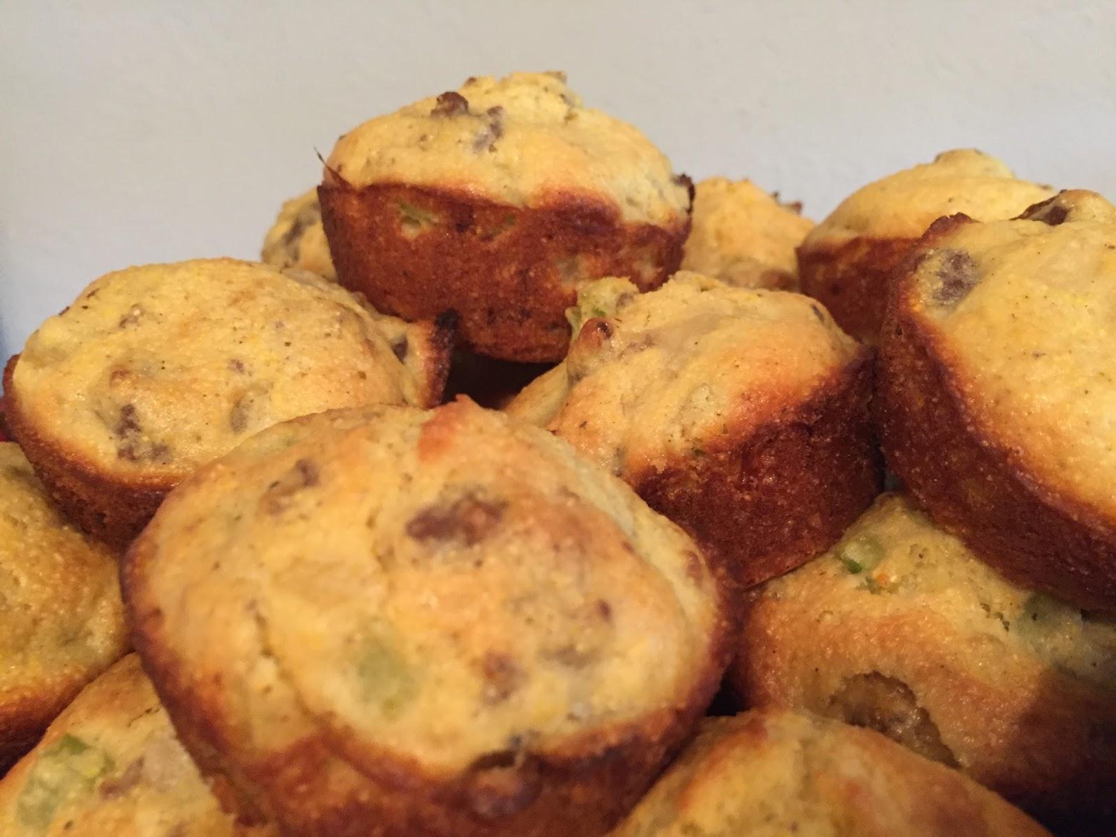 Cornbread Stuffing Muffins - christyrobbins