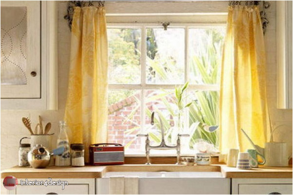 Elegant Kitchen Curtains 15