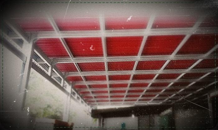 gambar kanopi baja ringan atap spandek 2016