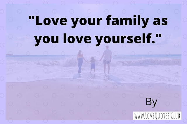 short love quotes for family