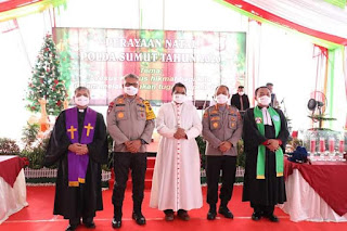 Rumah Konsistori Gereja Oikumene Polda Sumut Diresmikan,  Kapolda Sumut: Perbuatan Baik adalah Tiket Menuju Surga.