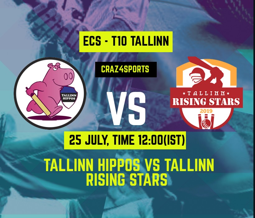 TH VS TRS Dream11 prediction | TALLINN HIPPOS Vs TALLINN RISING STARS | Dream11 ECS T10 TALLINN | Top picks | Players stats | Pitch Report | Dream Team