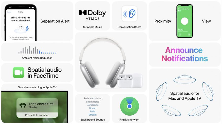 Updates to AirPods