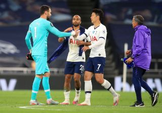 Tottenham goalkeeper Lloris reveals why he confronted Son during Everton clash
