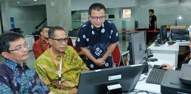 Tim Hukum BPN Lengkapi Berkas Registrasi Perkara Di MK