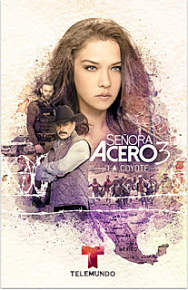 Señora Acero Temporada 3×50