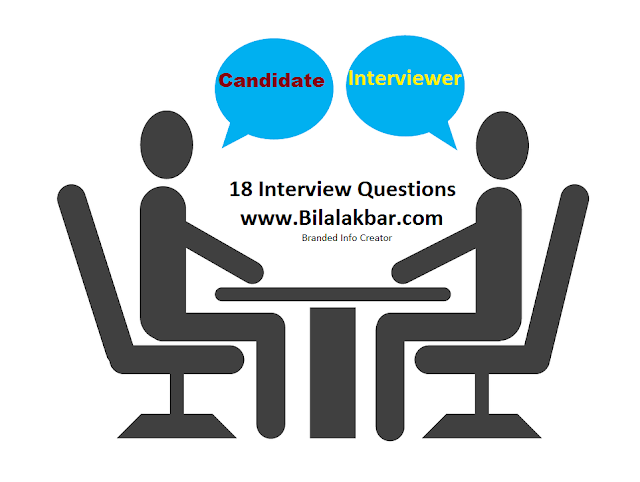 Top 18 Interview Questions Most asked Able in all Over the World for Getting Good Jobs