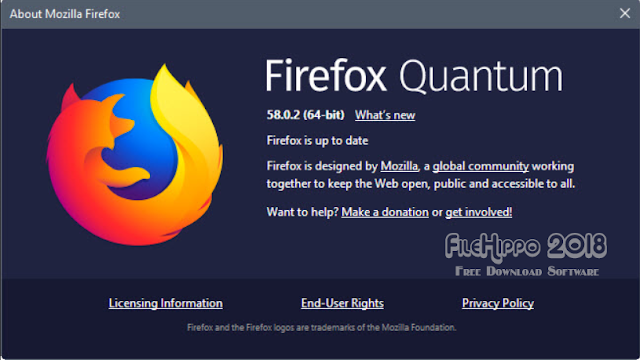 Download Firefox Quantum 58.0.2 2018
