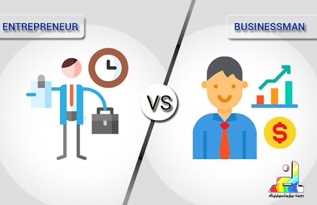 Difference Between Businessman and Entrepreneur.