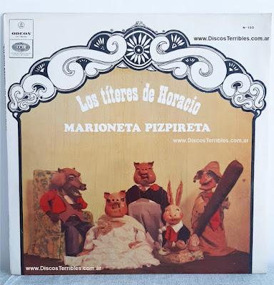 Marioneta Pizpireta - Los Titeres de Horacio