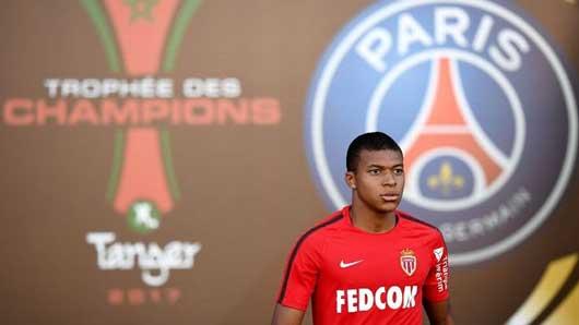 Kylian Mbappe tới PSG với giá 150 triệu euro