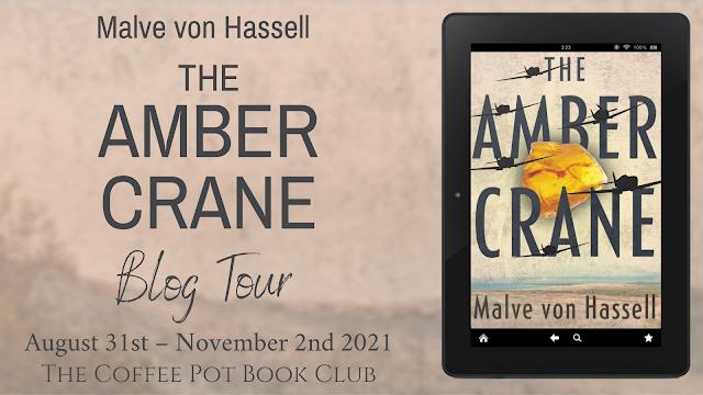 [Blog Tour] 'The Amber Crane' By Malve von Hassell #HistoricalFiction #Timeslip