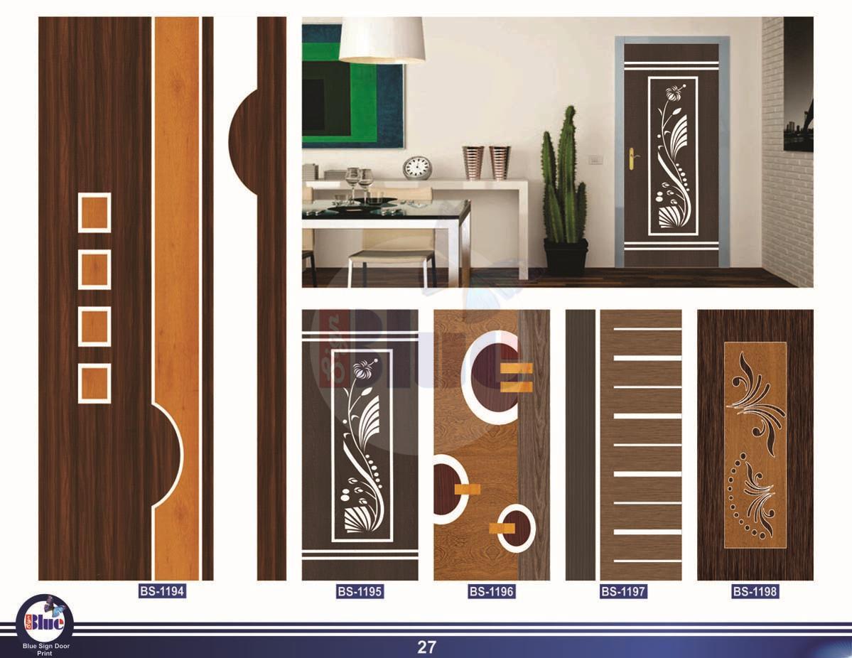Membrane Digital Door Print Decorative Door Skin Paper Print