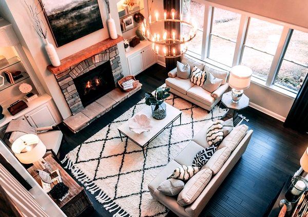 Blog : Décorer sa maison, idée salon Home Sweet Home, Eden Déco