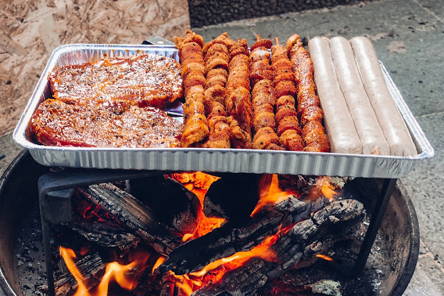 Petromax-Pfannenknecht  Outdoor-Kitchen  Unterstützung für Pfannen und Dutch Oven im Lagerfeuer. 08