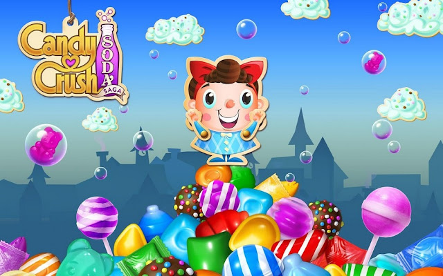 Candy Crush Soda Saga MOD Unlimited Everything