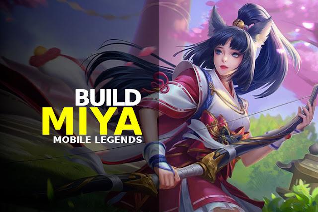 build miya mobile legends terbaru tersakit