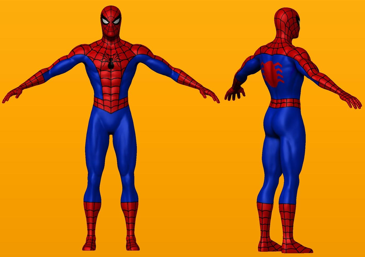 Spiderman se coge a marin de aacuteguila - 2 4