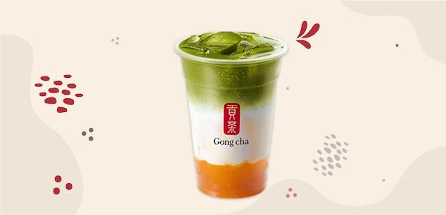 Gong Cha, e-Drink Series, Shopee, 9.9 shopee x gong cha, 9.9 shopee, bubble tea, online shopping