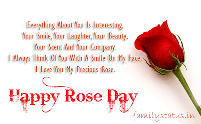 Rose day quotes in english for girlfriend