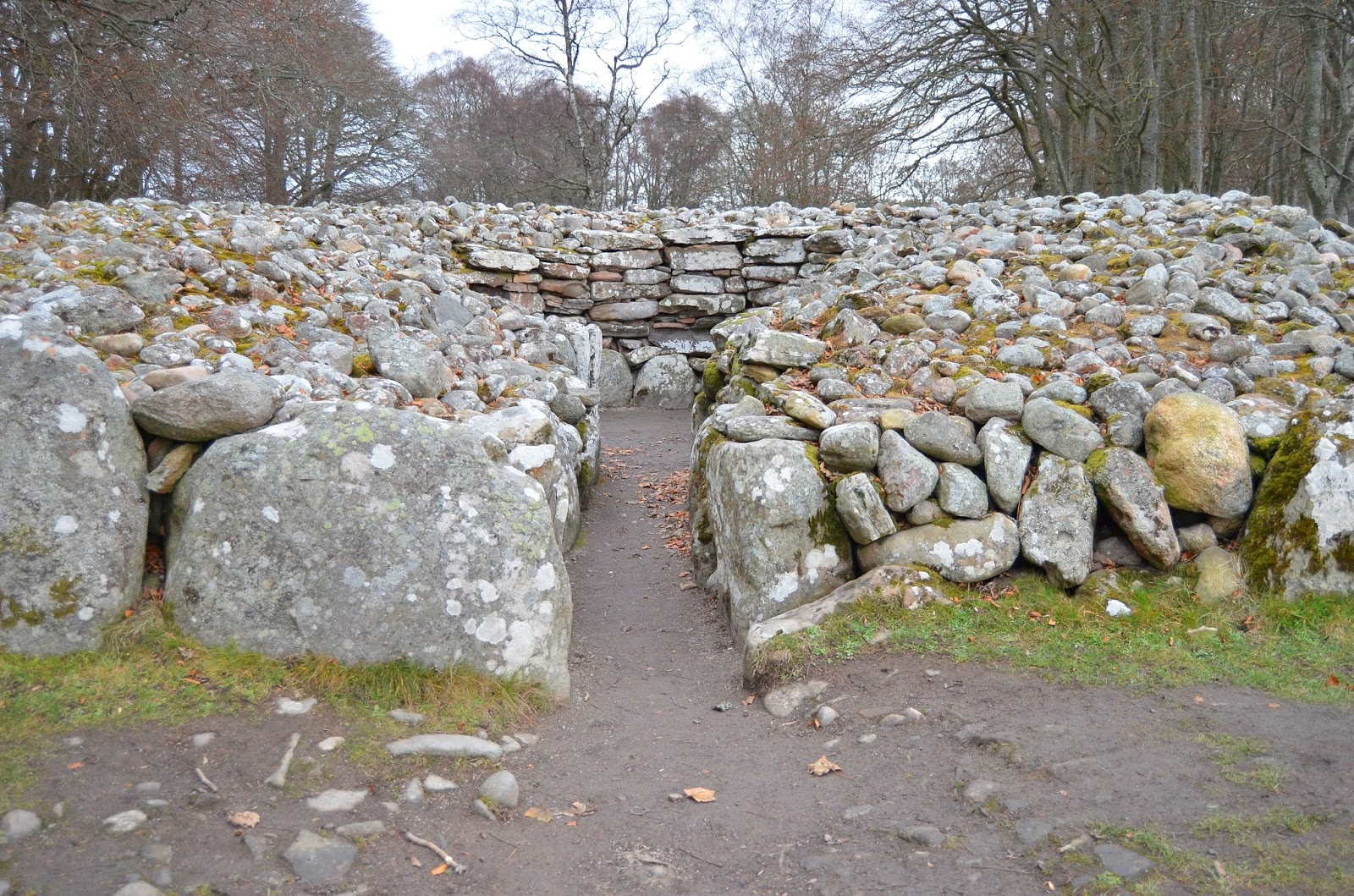 Clava Cairns Standing Stones Outlander Inspiration in Scotland
