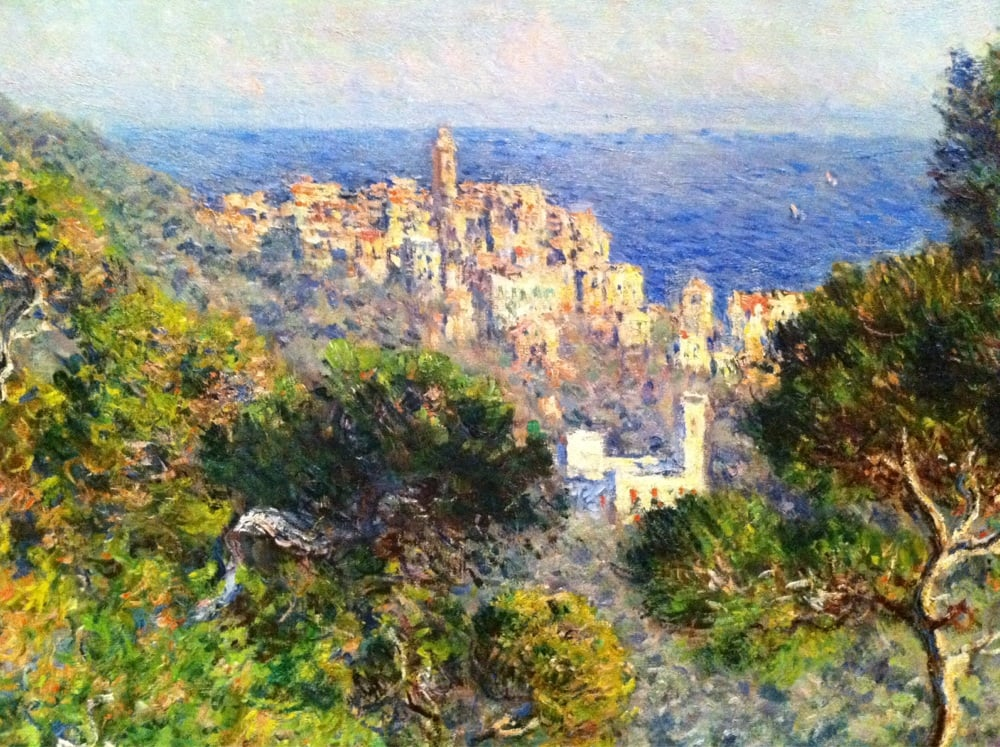 View of Bordighera (1884) by Claude Monet - UK culture blog